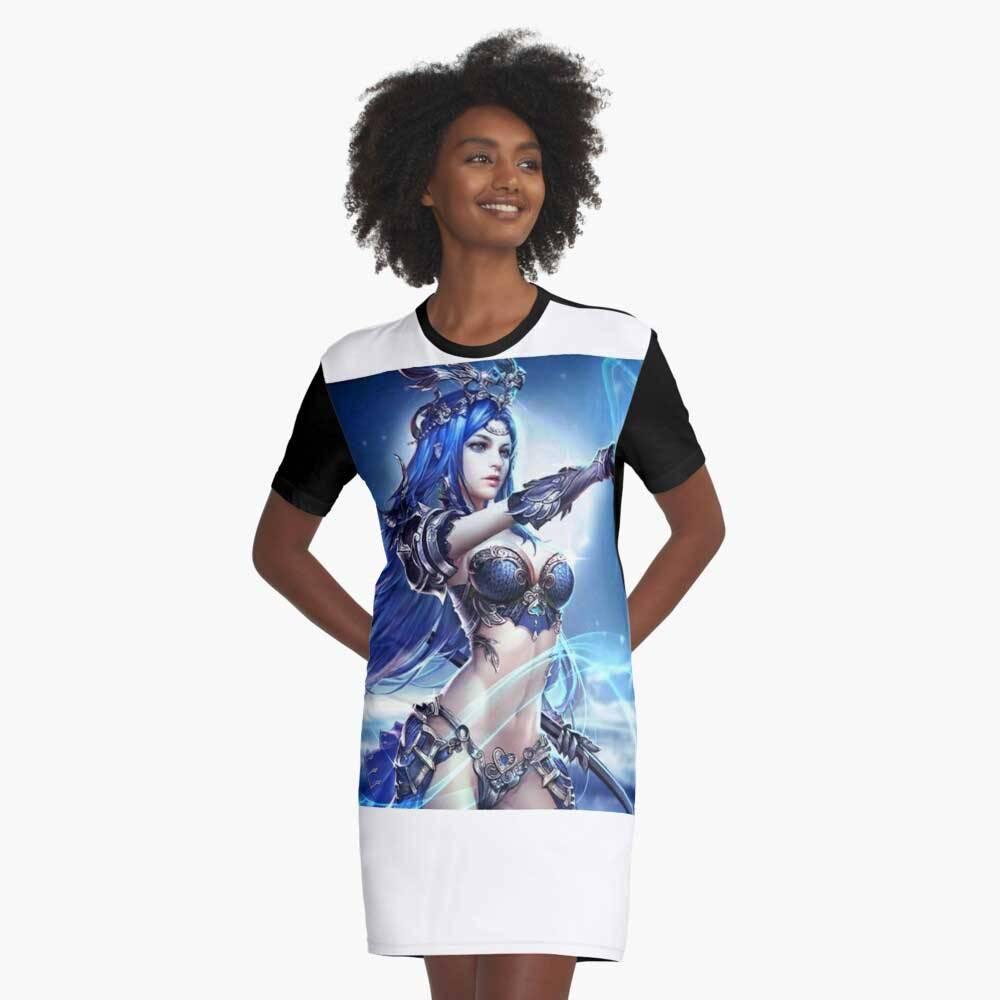 Mobile Legends Graphic T-Shirt Dress