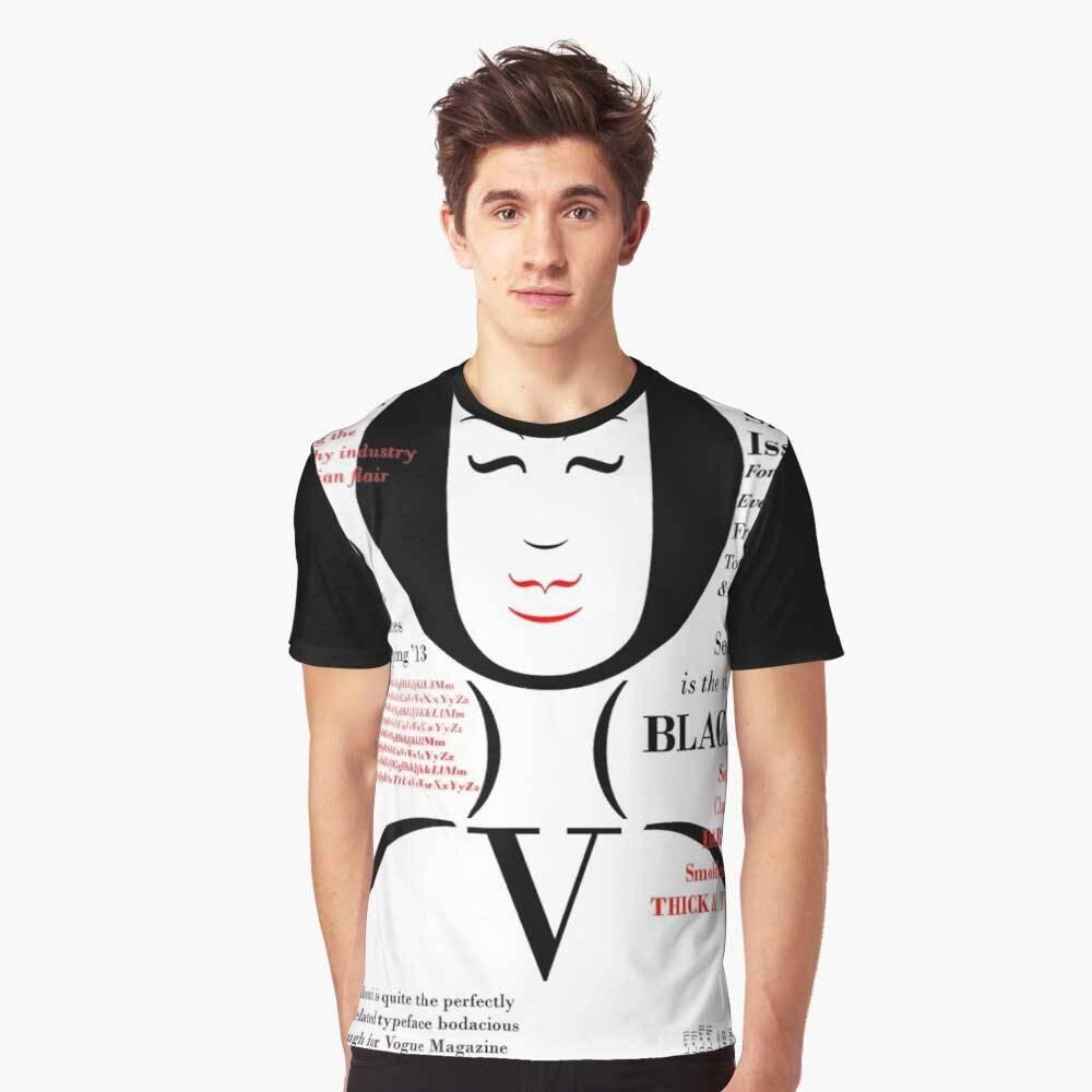Bodoni Graphic T-Shirt