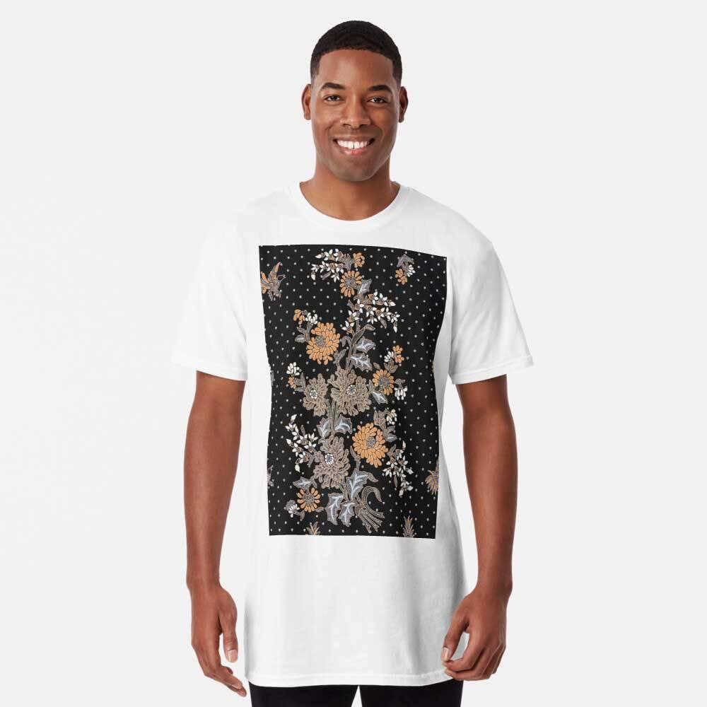 Indonesian Batik Sarong Long T-Shirt