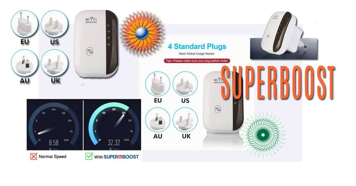 Supercharge your Wi-Fi signal and experience the internet at speeds you never thought possible!