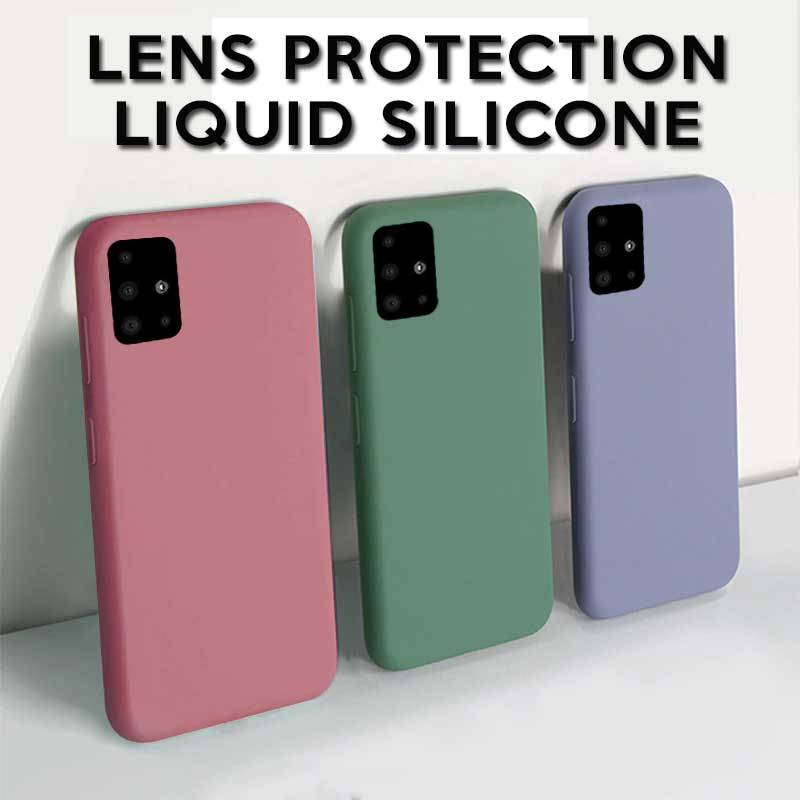 Samsung Liquid Silicone Soft Case Cover