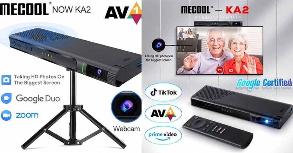 MECOOL NOW KA2 Android TV Box Review with Camera & Video Calling